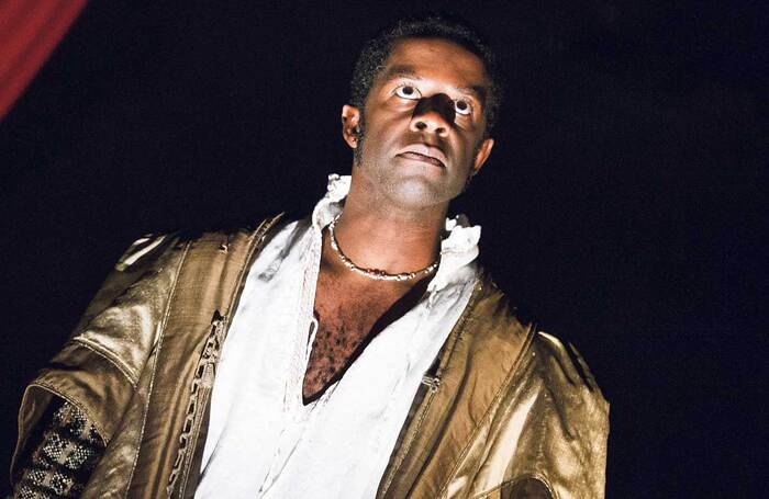 Adrian Lester, seen here in Red Velvet at London's Garrick Theatre, is cited by the panel as a performer with star quality. Photo: Tristram Kenton