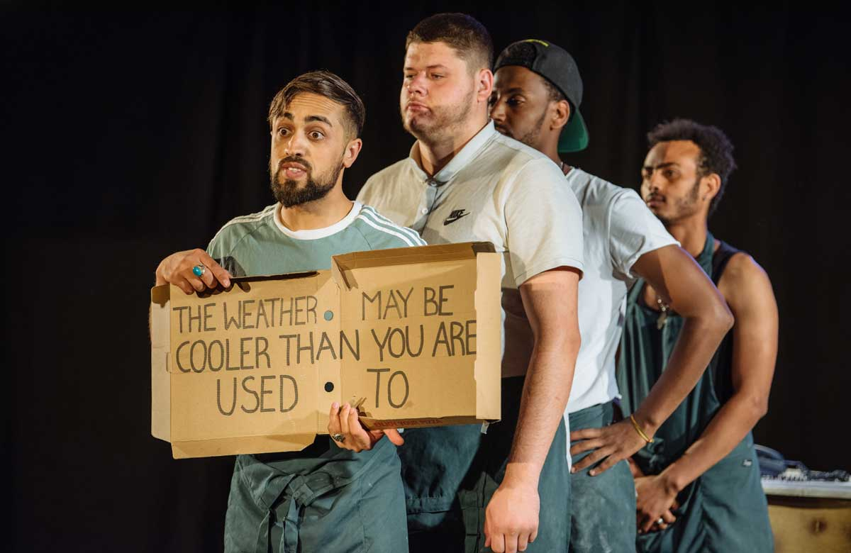 Theatre companies appeal for industry support for work with Afghan refugees