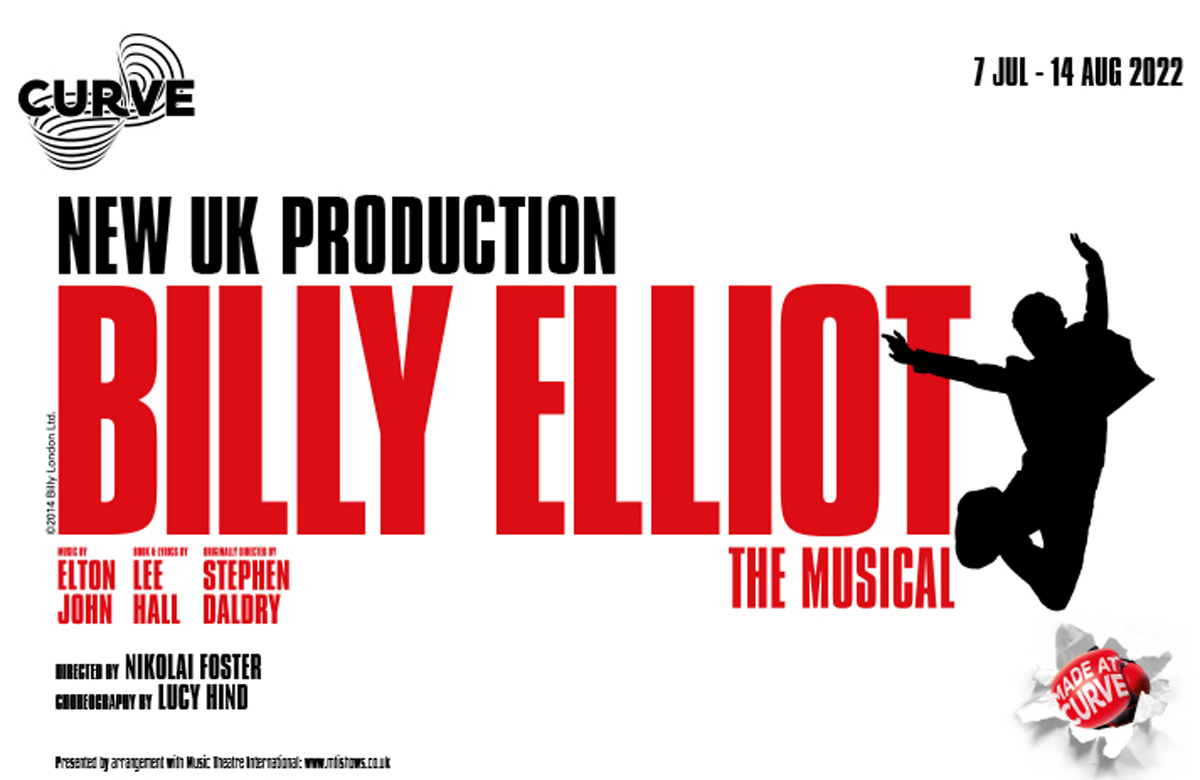 Curve in Leicester to stage first new UK production of musical Billy Elliot