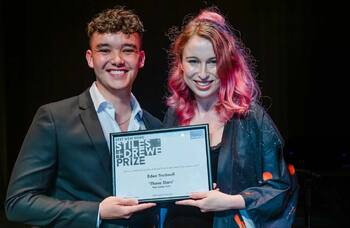 Eden Tredwell wins 2021 Stiles and Drewe Best New Song Prize