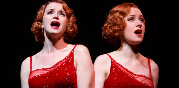 Emily Padgett and Erin Davie in Side Show. Photo: Joan Marcus
