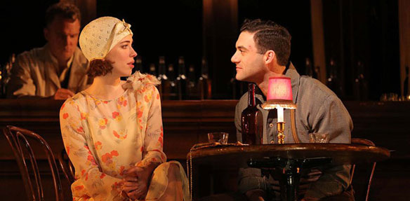 Rebecca Hall and Morgan Spector in Machinal