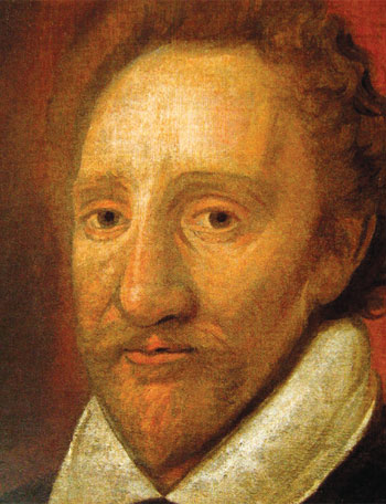 A portrait of Richard Burbage, which many think is by the actor himself