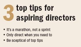 Sean Holmes top tips