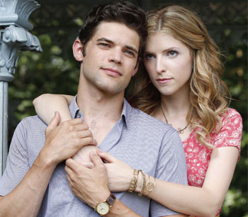Jeremy Jordan and Anna Kendrick in the film adaptation of Jason Robert Brown's musical The Last Five Years, which was released in cinemas last month. Photo Icon Film Distribution