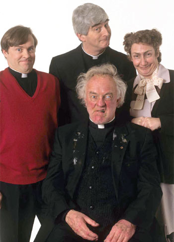 Father Ted is still being shown two decades after it was first broadcast. Photo: Channel 4