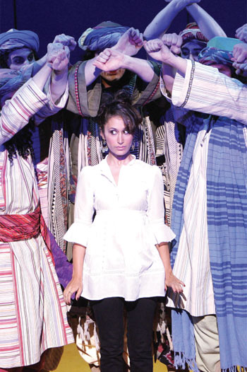 Preeya Kalidas in Joseph and the Amazing Technicolor Dreamcoat in 2007. Photo: Tristram Kenton