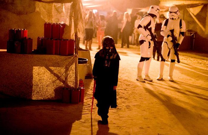 Secret Cinema: The Empire Strikes Back. Photo: Camilla Greenwell