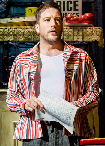 Matt Cardle in another scene from Memphis. Photo: Johan Persson