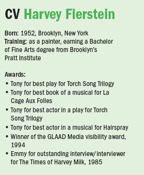 CV Harvey Fierstein