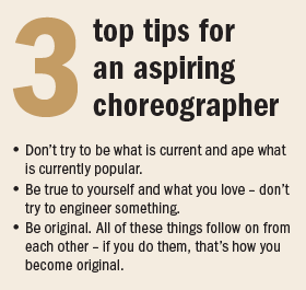 Matthew Bourne 3 tips
