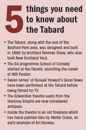 5 things tabard theatre