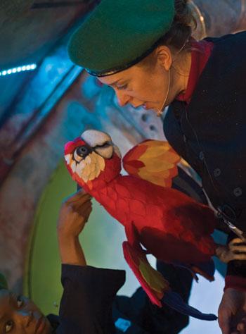 Ebony Feare and Lisa Howard in Emergency Story Penguin. Photo: Zagni Photography