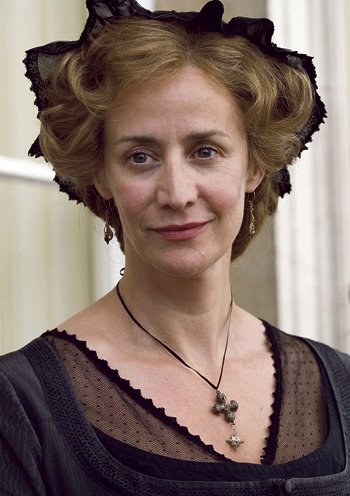 McTeer as Mrs Dashwood in the BBC's 2008 adaptation of Sense and Sensibility