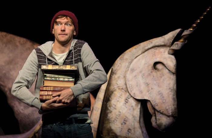 A scene from Theatre Alibi's I Believe in Unicorns, produced by Dep Arts' David Edmunds. Photo: Steve Tanner