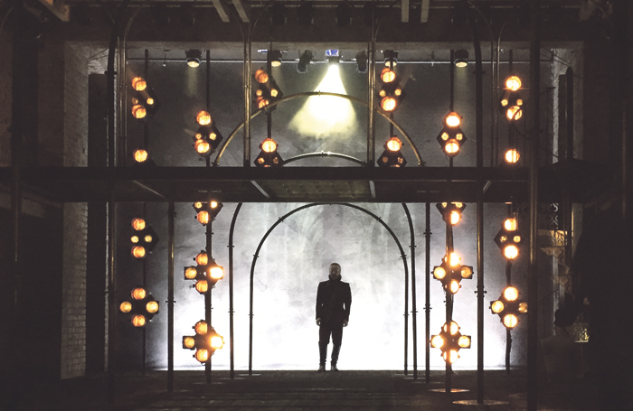 Fleischle's design for the Royal Shakespeare Company's 2015 production of Love's Sacrifice. Photo: Charlotte Broom