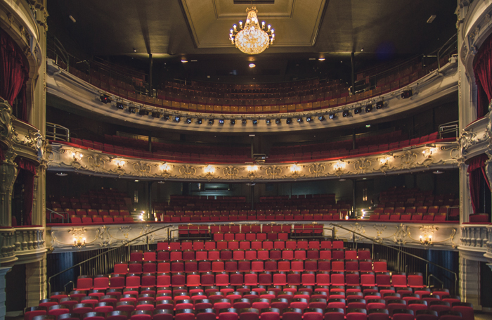 York Theatre Royal auditorium. Photo: Sirastudio