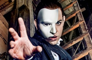 Ben Forster as The Phantom. Photo: Matt Crockett