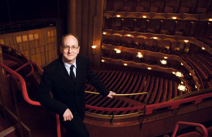 Metropolitan Opera general manager Peter Gelb in the auditorium. Photo: Dario Acosta