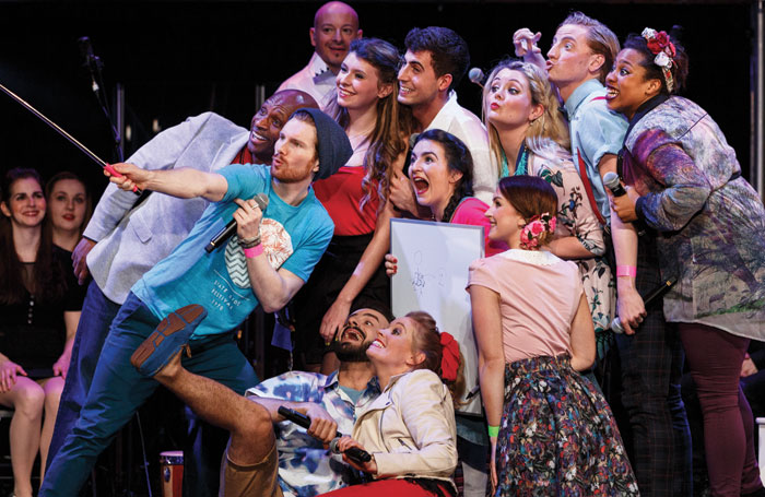 Godspell in Concert at the Hackney Empire in 2015 . Photo: Darren Bell Photography