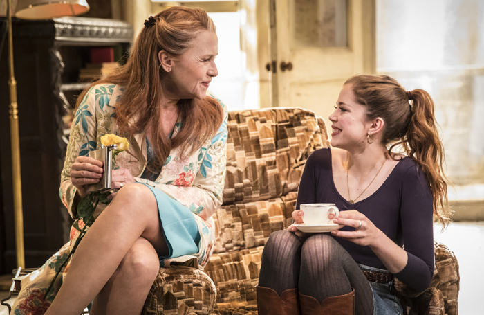 Amy-Madigan-&-Charlotte-Hope-in-Buried-Child,-Trafalgar-Studios,-photo-Johan-Persson