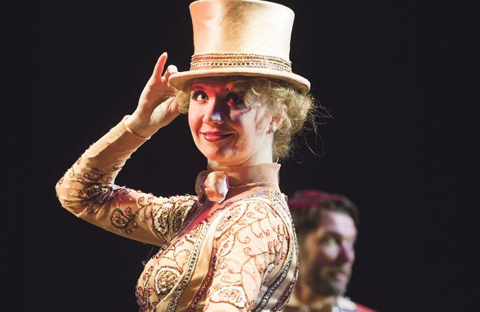 Strallen in A Chorus Line at the London Palladium in 2013