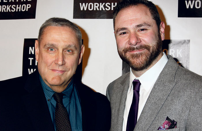 NYTW artistic director James C Nicola and managing director Jeremy Blocker. Photo: Henry McGee