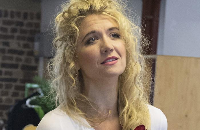Scarlett Strallen in rehearsals for She Loves Me. Photo: Alastair Muir