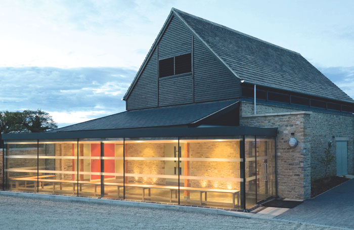 Theschool's premises at Sansomes Farm Studios, Woodstock. Photo: Quintin Lake
